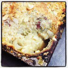 Potato, Leek & Cauliflower Bake